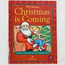 Vintage Hallmark Christmas Is Coming Coloring Book Walgreens Exclusive 3... - $9.47