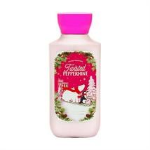 Twisted Peppermint Lotion Shea + Vitamin E Bath Body Works 8 oz - Orig F... - $22.76