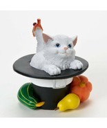 Charming Purrsonalities You Are So Thankful Cat Figurine Thanksgiving En... - $17.73