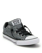 Converse Chuck Taylor All Star Street Kid's Youth Gray Black Skate Shoes... - $24.99