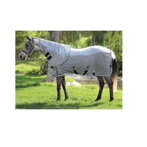ComfortFit Fly Sheet For Horses Protection Breathable Gray/Charcoal 84 I... - $168.15
