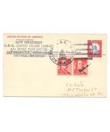 Naval Cancel 1960 USS Burton Island AGB 1 Icebreaker UY16 Reply card up... - $4.99