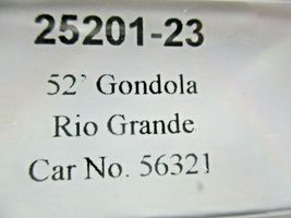 Trainworx Stock # 25201-23 to -24  Rio Grande Orange Paint Scheme 52' Gondola (N image 8