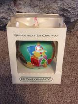 Vintage 1984 Grandchilds First Christmas Hallma... - $10.00