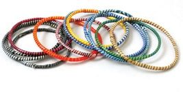 Bracelet,  12 Pcs., Traditional African, Hand Woven in Mali - $13.00+