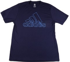 Small Men's Shirt adidas Adilogo Performance Graphic Tee T-shirt Purple