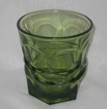 "NEAT Vintage 4"" Green HENRY FORD MUSEUM Drinking Glass - $20.45"