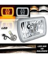 7x6' Switchback White Halo Amber Blinker LED Headlight Fits Jeep Wrangle... - $99.95