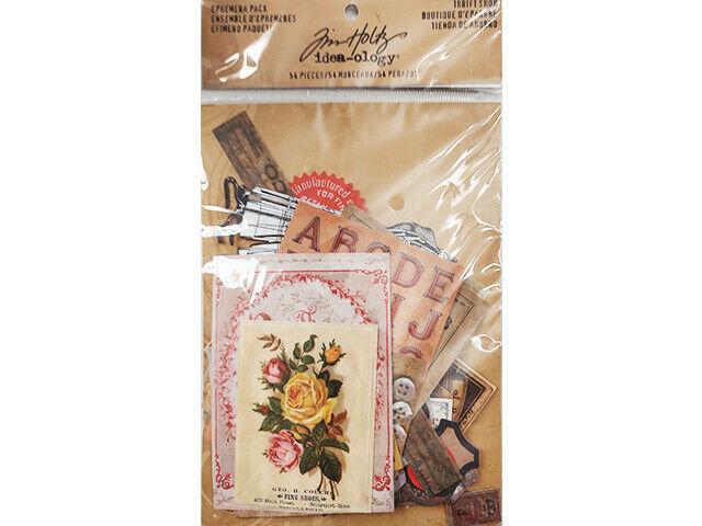 Tim Holtz Thrift Shop Ephemera Pack #TH93114