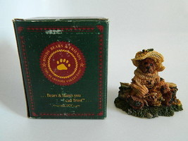 NIB 1993 Boyds Bears & Friends 1993 Bailey... Honey Bear Resin - $14.99