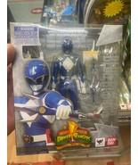 BanDai Mighty Morphin Power Ranger Blue Ranger Celebration 20 Years - Br... - $158.35