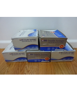NEW 4 boxes (370 Total Count) BD Insulin Syringes 1/2 ML cc 6mm 31g SEALED - $39.95