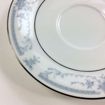 SHEFFIELD CHINA Blue Whisper Floral Saucer Plat... - $5.93