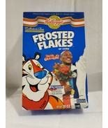 Vintage Kellogg's Frosted Flakes Empty Cereal Box Maurice Greene 2001 Rare - $21.77