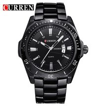 CURREN Fashion Business Wristwatch Casual Military Quartz Sports Men's Watch Ful - $30.75