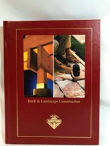 Handyman Club of America Deck & Landscape Construction Book 1995 - $12.16