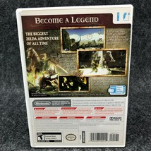 The Legend Of Zelda: Twilight Princess Nintendo Wii, Complete CIB Game image 2