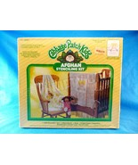 Plaid Cabbage Patch Kids Afghan Stenciling Kit My Little Girl Crochet Ki... - $19.79