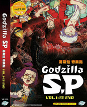 Godzilla S.P: Singular Point VOL1-13 End Anime DVD w/ English dub Ship From USA