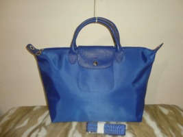 SOLD ~ LONGCHAMP Le Pliage Medium Series NEO Indigo Blue Brand NEW - SOLD - $100.00