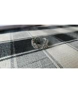 Vintage Sterling Silver Filigree Ring Size 6 - $10.40