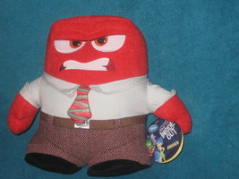 Disney Store Authentic Inside Out Anger plush. Brand New with Tags. - $24.73