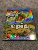 Epic (Blu-ray/DVD, 2013, 2-Disc Set, Includes Digital Copy UltraViolet) - $0.01