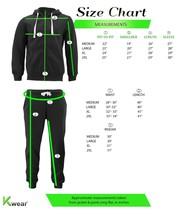 Men's Casual Fleece Sweater Pants Gym Running Athletic Jogging Track Suit Set image 2