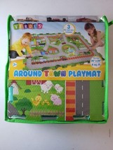 Verdes Around Town Play Mat 36x 24 Inch (6 Sq Ft.) - 3 Die-Cast Cars Inc... - $34.64