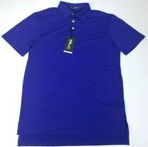 Ralph Lauren RLX Performance Mens Wicking Golf Polo Shirt Size M Blue St... - $55.69