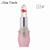 BAHYHAQ -  Moisturizer Lip Balm Flower Crystal Lipstick Temperature Chan... - $5.24