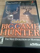Sony PS2 Cabela's Big Game Hunter image 1