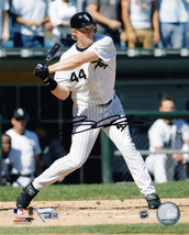 BRIAN ANDERSON Signed Chicago White Sox Batting Action 8x10 Photo - SCHW... - $38.61