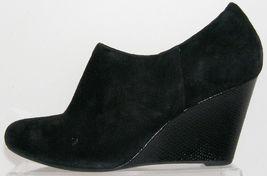 'Purity Clarks suede wedge ankle black Artisan wedge Frost' booties zip 9M 66gZfwWq5