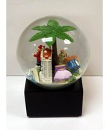 Saks Fifth Avenue SARASOTA Florida Landmark Musical Snow Globe Ringling... - $5,050.08