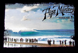 Official AI Memory Andy Irons Pipe Master Surfing Hawaii NWT Large Black... - $44.55