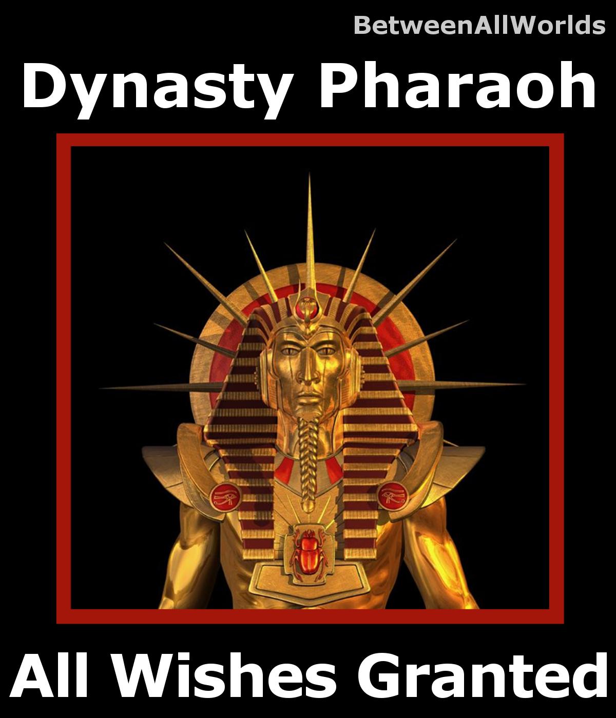spr Dynasty Pharaoh Djinn All Wishes Granted + BetweenAllWorlds Wealth Spell - $155.36