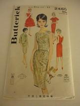 Vintage 1960s Butterick Size 11 2460 evening dress jacket cut pattern bu... - $19.79