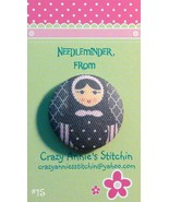 Matryoshka #15 Needleminder fabric cross stitch... - $7.00
