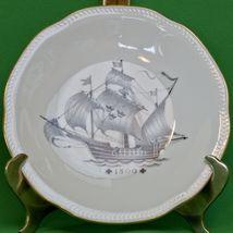 """Vintage 8"""" ALP (Lidkoping Kungsholmsservisen) Swedish Viking Ship Salad ... - $3.95"""