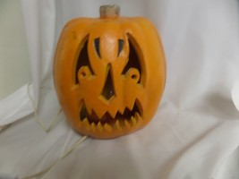 "THE PAPER MAGIC GROUP LIGHTED PUMPKIN 10"" MAD ANGRY JACK OLANTERN - £15.63 GBP"