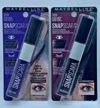 Lot of 2 Maybelline New York SNAPSCARA 310 Ultra Violet & 320 Black Cherry - $14.84