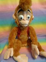 "Disney Store Exclusive Authentic Aladdin's Pet Monkey Abu Plush Animal 15"" - $22.75"