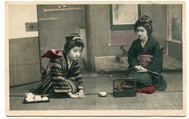 Japanese Women Tea Ceremony Japan 1910c postcard - $7.00