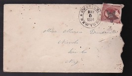 CASTILE NEW YORK MAY 5 1884 - $2.98