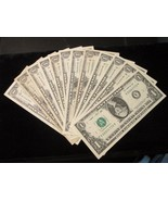 All 12 Federal Reserve Banks $1.00 from each having the most UNUSUAL Ser... - $42.00