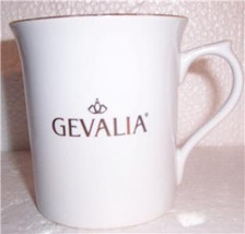 Gevalia Kaffe Ceramic White In Color Collectible Coffee Mug - $11.99