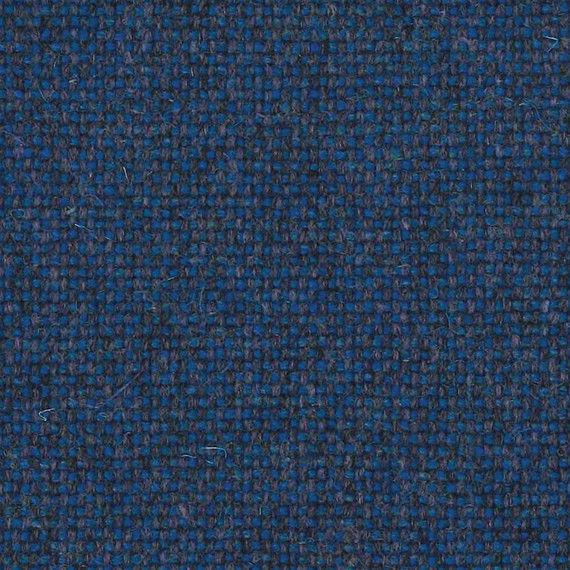 2.25 yds Camira Upholstery Fabric Main Line Flax Brompton Blue MLF35 HB