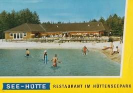 See Hutte Restaurant im Huttenseepark Walter Wickel Postcard - $9.99