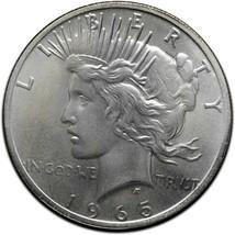 RARE 1965D Token Fantasy Dan Carr Struck On a Silver Peace Dollar Lot A 498